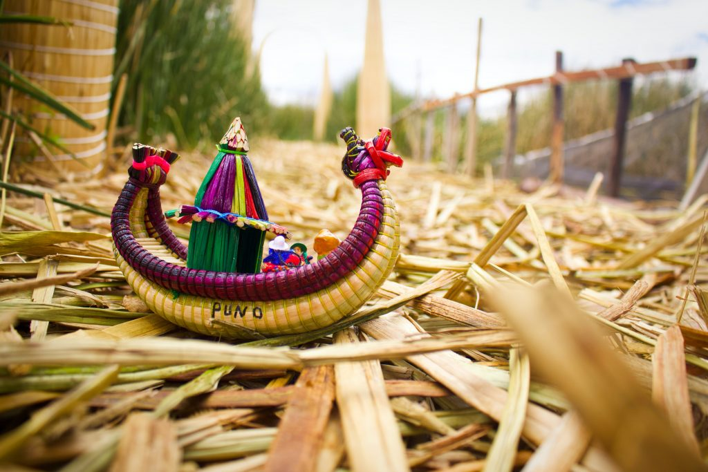 Image from Lake Titicaca